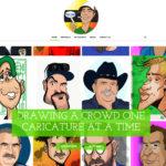 Tulsa Caricatures – Web Design