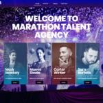 Marathon Talent Agency – Web Design