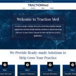 Traction Med Distribution – Web Design